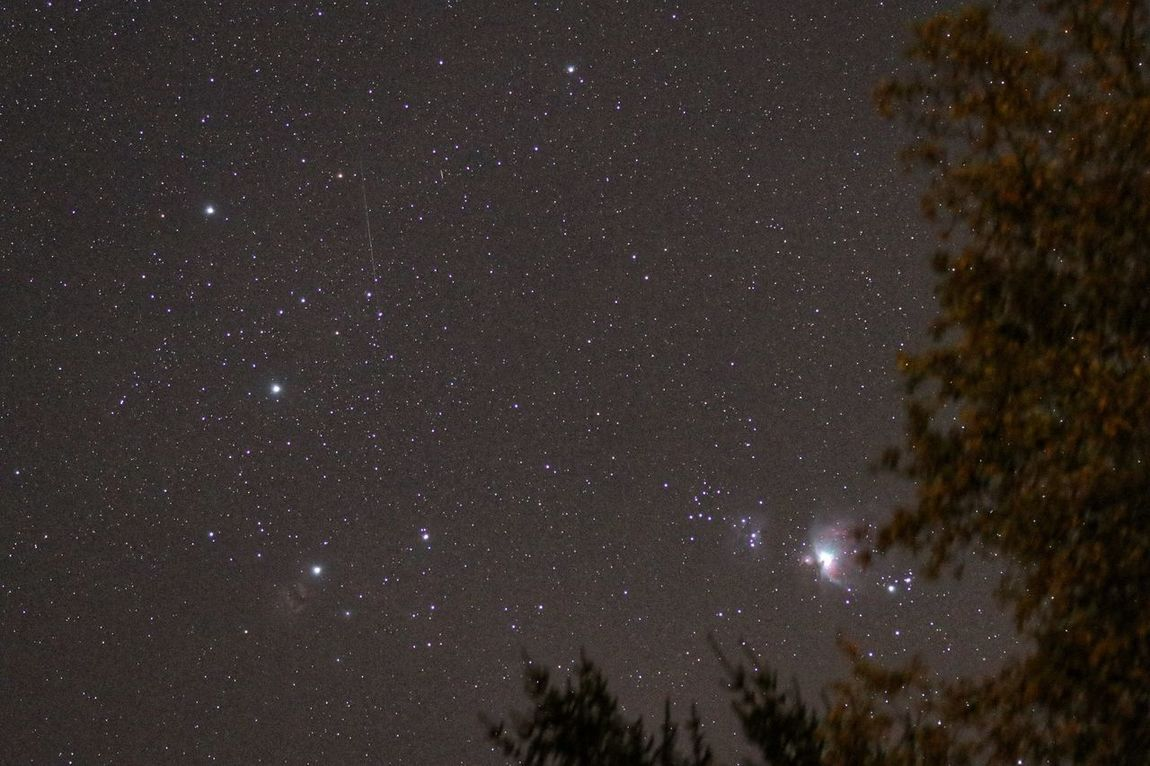 Orion rising... Star - Space Astronomy Night Galaxy Milky Way Constellation Space Sky Space Exploration No People Nature Outdoors Beauty In Nature Single Shot Orion Nebula Orione Orions Belt Orion Constellation Orion's Costellation EyeEm Ready