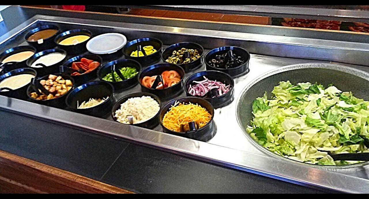 Ready for a Salad Salad Salad Bar Tasteful Arrangement Hungry?