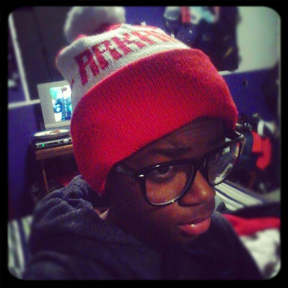 when I first got my hat