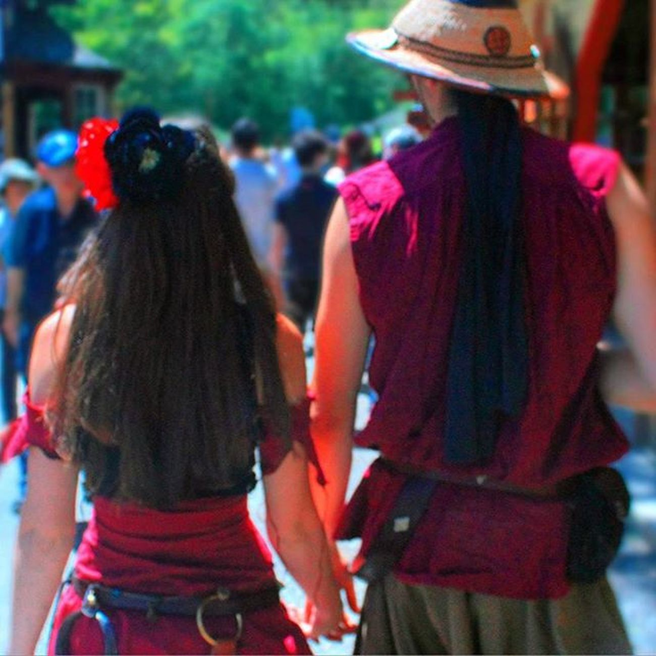 Love at the Renaissance faire. Kelleymediaproductions Outdoors Renaissancefaire Renfaire Nyrenaissancefaire Photooftheday Photography Photographersofinstagram Color Colorphotography Canon Canon_official Canonphotography Canon7d  Stayrad
