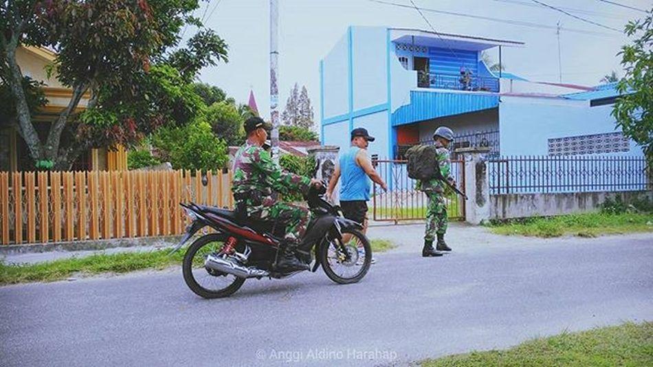 (Training hard) gonna be a Sergeant! VSCO Vscogrid Vscogood Vscophile Vscolover Vscocam Vscocamphotos Sergeant Army Indonesianarmy TNI