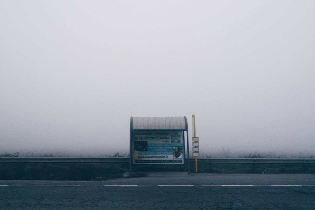 Fog No People Nature Tranquility Storm Cloud Sky Outdoors Day Foggy Day Foggy