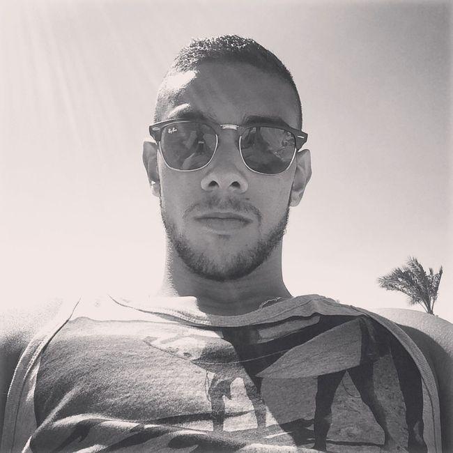 Selfie ✌ Selfportrait Pool Blackandwhite Hello World That's Me