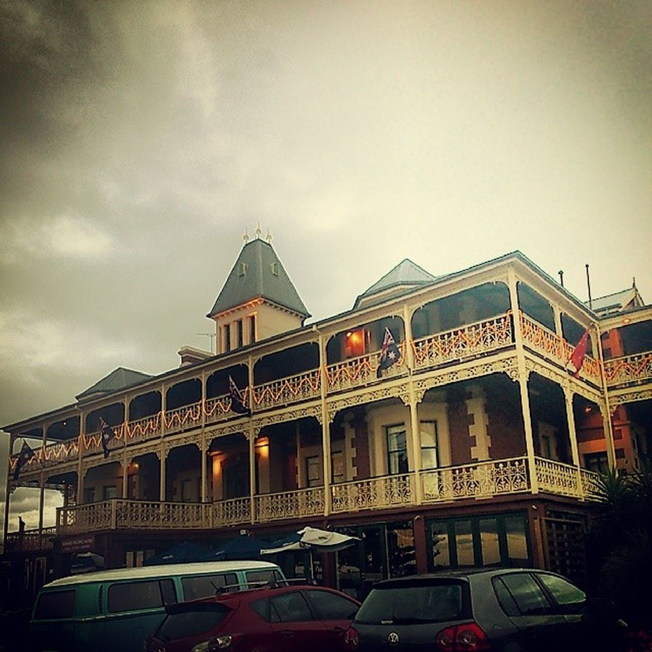The GrandPacificHotel looks like something straight out of SomewhereInTime !
