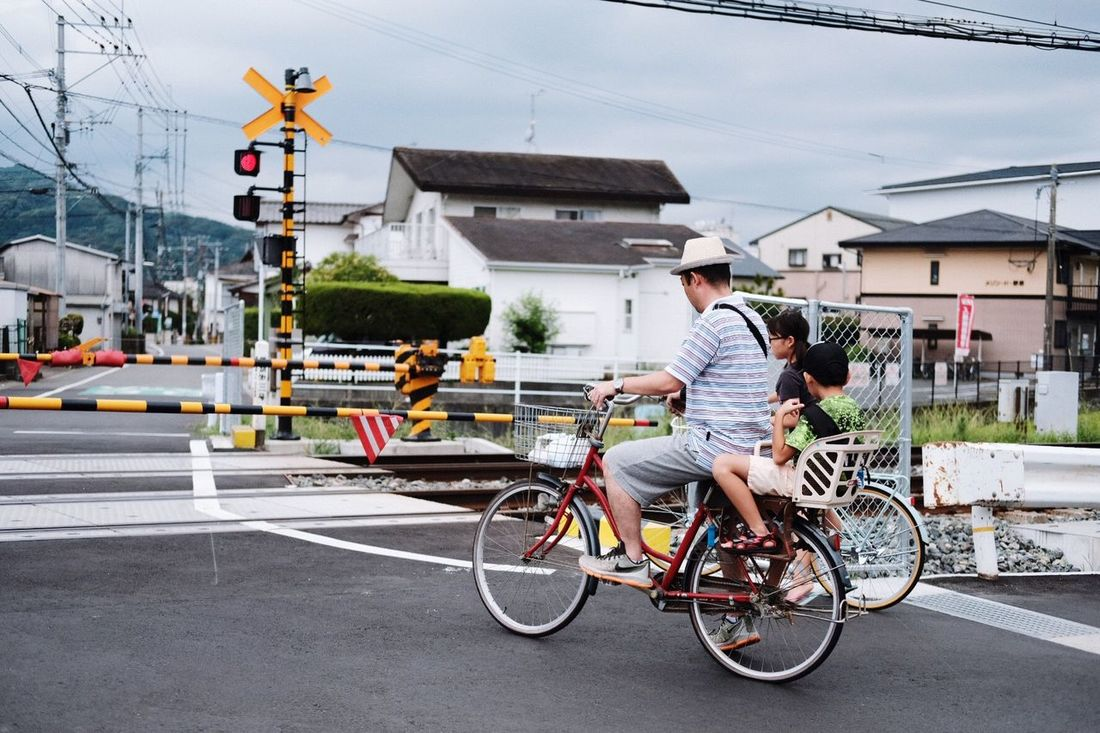 Lovely Family Bike Family Bicycle Japan Streetphotography Street Daily