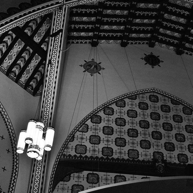 Bnw Blackandwhite Pattern Ceiling Upenn Travel Architecture Nikon D3300