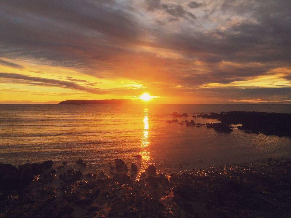 Sunset New Zealand Wellington