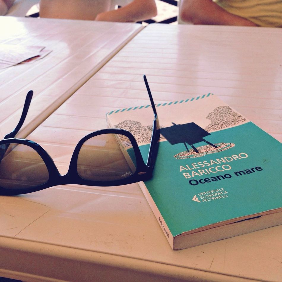 Baricco Oceanomare Sunglasses Book