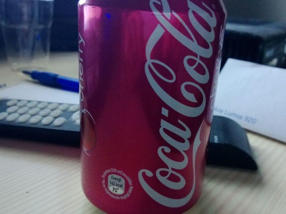 Yeaaah Cherry Coke, I Drink U.