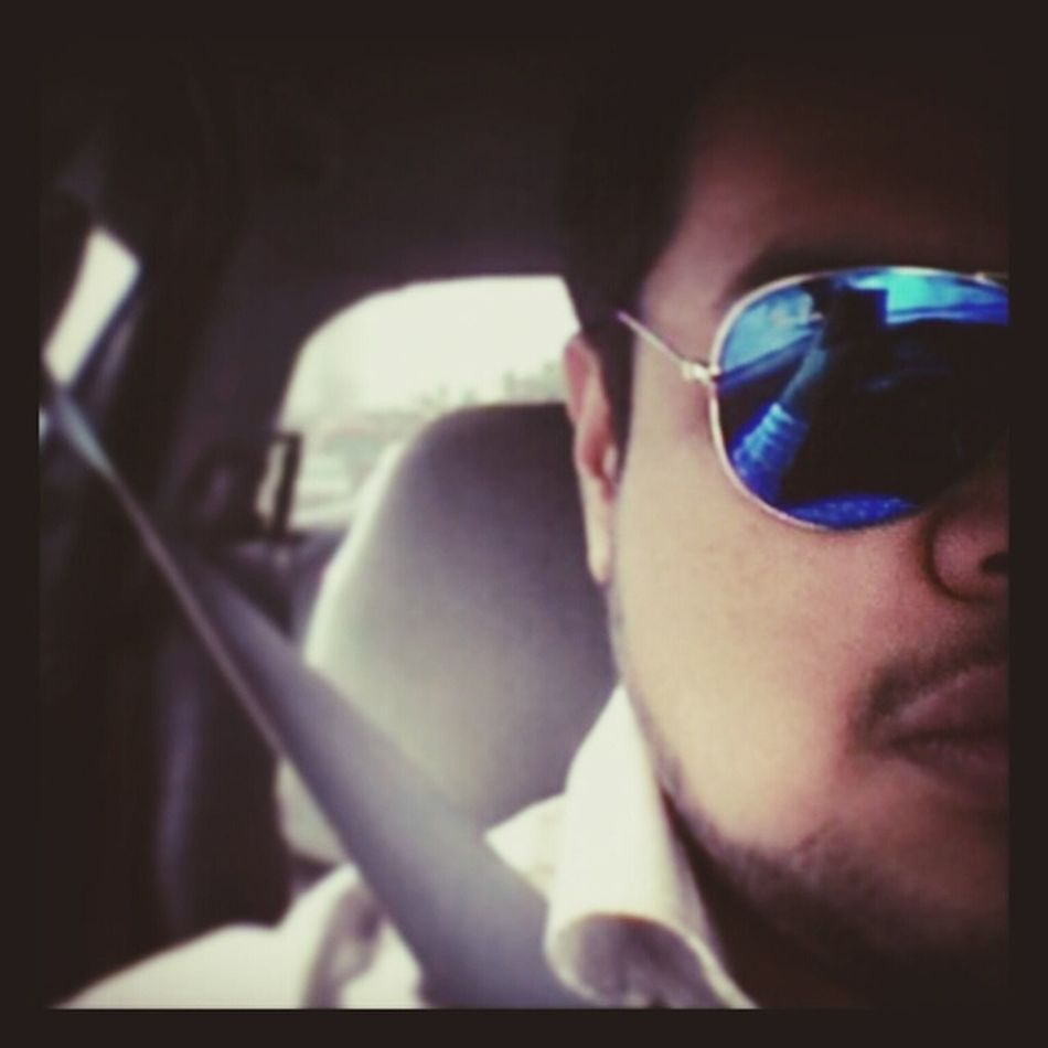 Otw back from work... Late post...