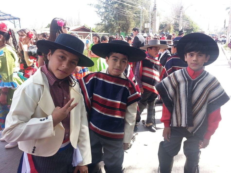 Looking At Camera I Love My Job! ❤ Dia Nacional Escuela Lipangue 18 De Septiembre Lipangue Chile♥ Fiestas Patrias Celebration Desfile Lampa Huasos