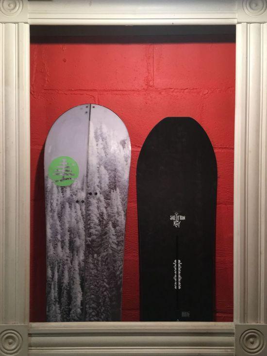 Beautifully Organized Snowboards await the winter season > SOON!! > Burtonsnowboards Familytree BLOTTO X BURTON Collaboration