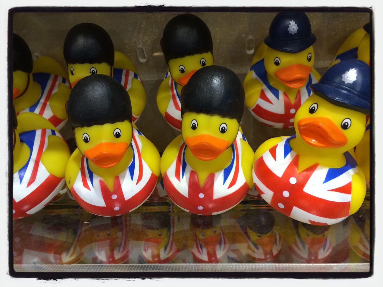 Airport Farewell Scotland Rubber Duck