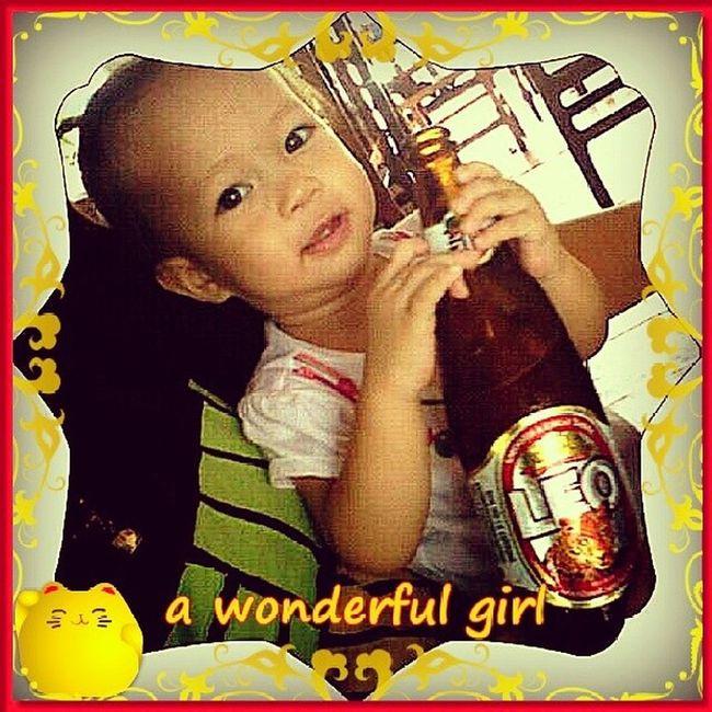 A wonderful girl