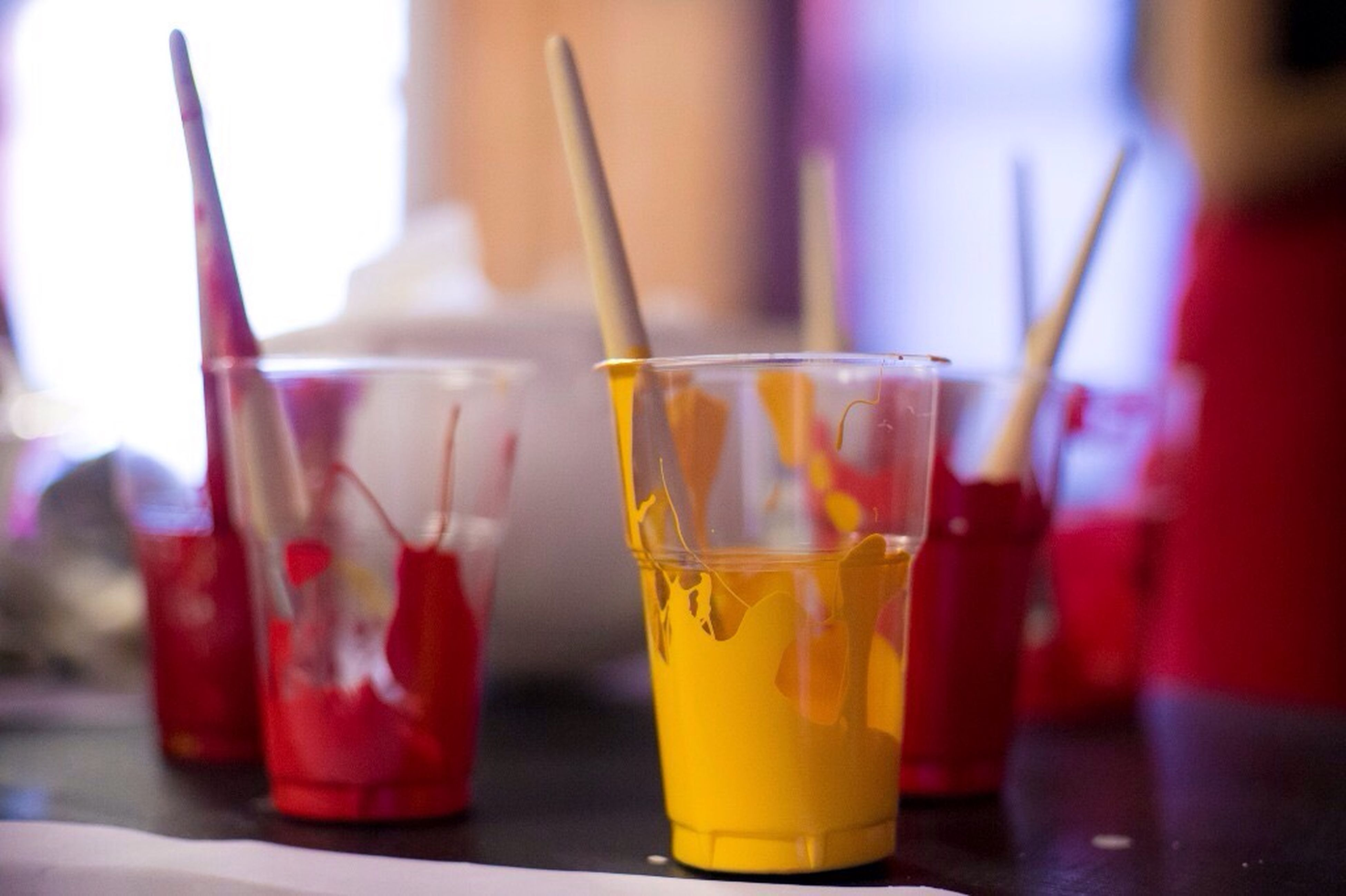 drink, food and drink, refreshment, indoors, table, drinking glass, still life, focus on foreground, close-up, alcohol, freshness, drinking straw, selective focus, glass - material, restaurant, cocktail, juice, bottle, glass, no people