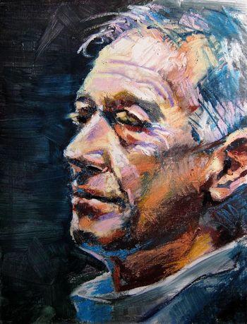 Old man Jim Art Drawing Portrait Painting
