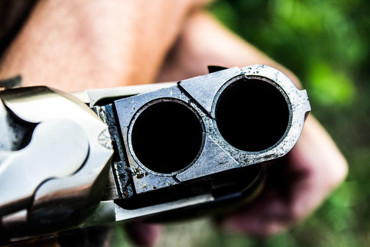 Barrols Gun Hunter Rifle Shotgun Shotgun Barrol Siluet