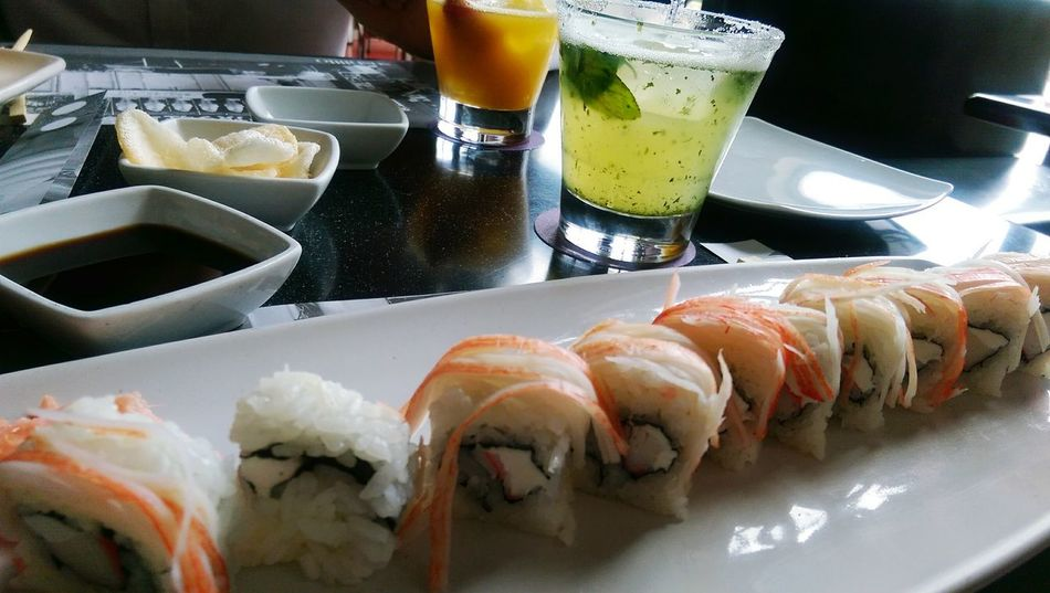 Food Sushiroll Mojito Perfect Moment