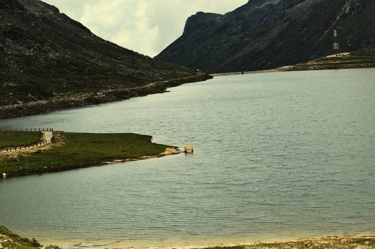 How Do We Build The World? lake between mountains Stable Life Peace ✌ Lake View Arunachal Pradesh High Altitude Water Landscapes With WhiteWall