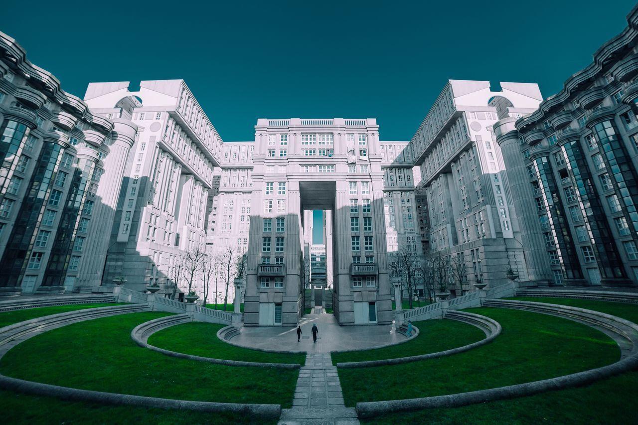 The surreal Grand Ensembles of Paris Architecture EyeEm Best Shots Minimalist Architecture Landscape_Collection Paris Break The Mold The Architect - 2017 EyeEm Awards