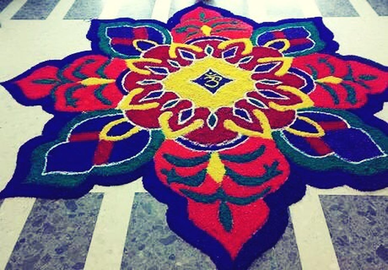 Beautiful Indian festivals Indian Culture  Diwali Celebration Colourful Rangoli