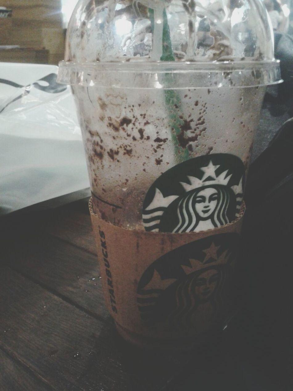 Drinking Starbucks Starbucks Hi! Happy