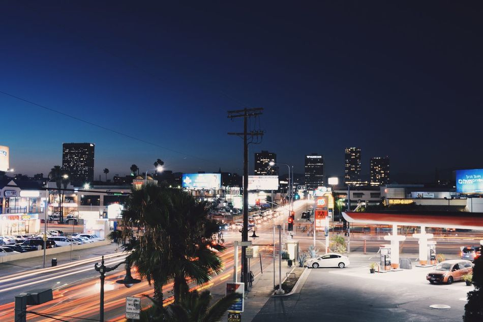 Beautiful stock photos of los angeles, transportation, clear sky, building exterior, city