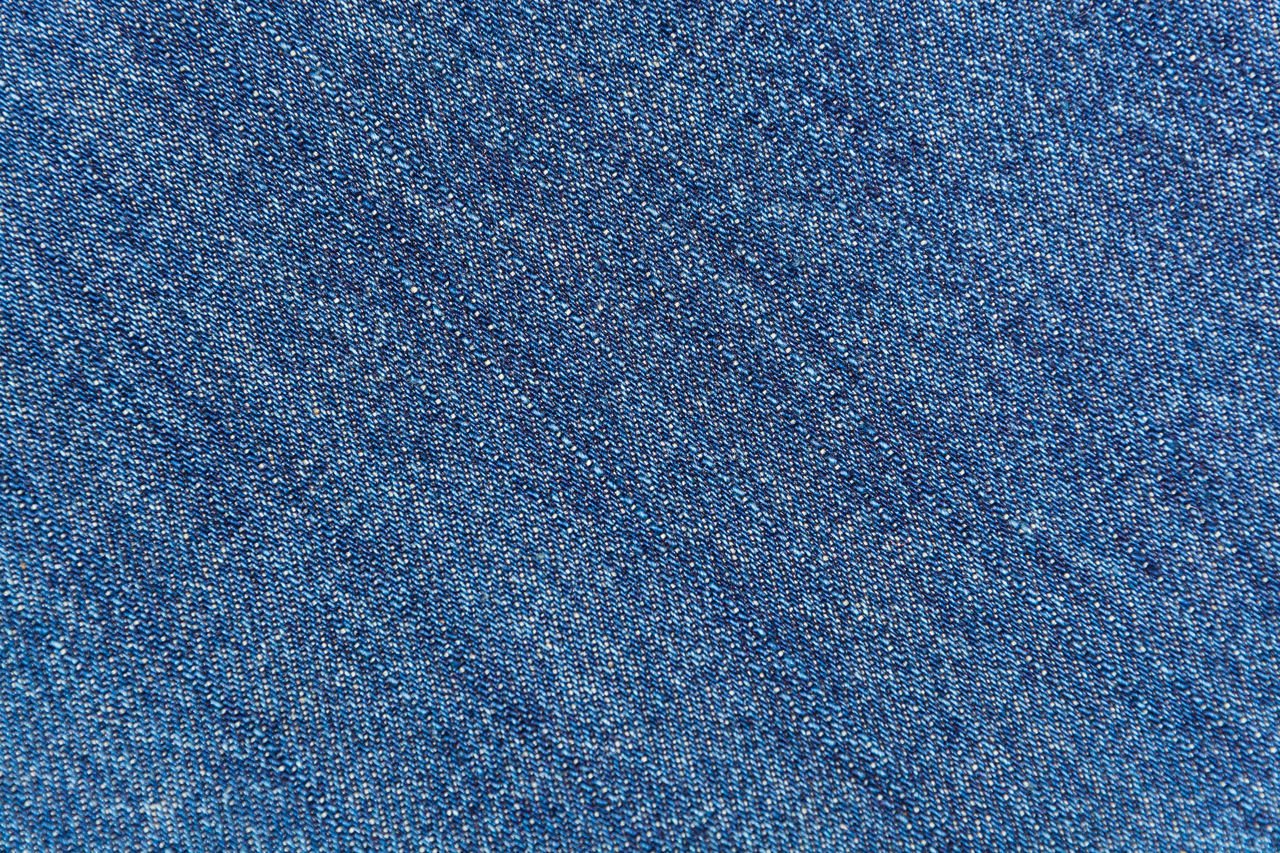 Background texture of blue jeans fabric Abstract Backgrounds Blue Close-up Color Palette Detail Fabric Full Frame Jeans Outdoors Textured  Textures And Surfaces