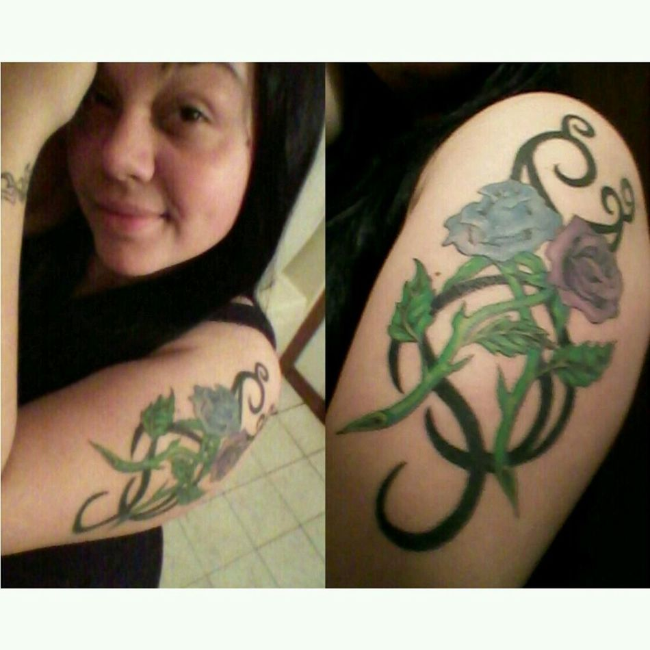 i fell inlove.....with ink ;) tattoo #4, the start of many more.