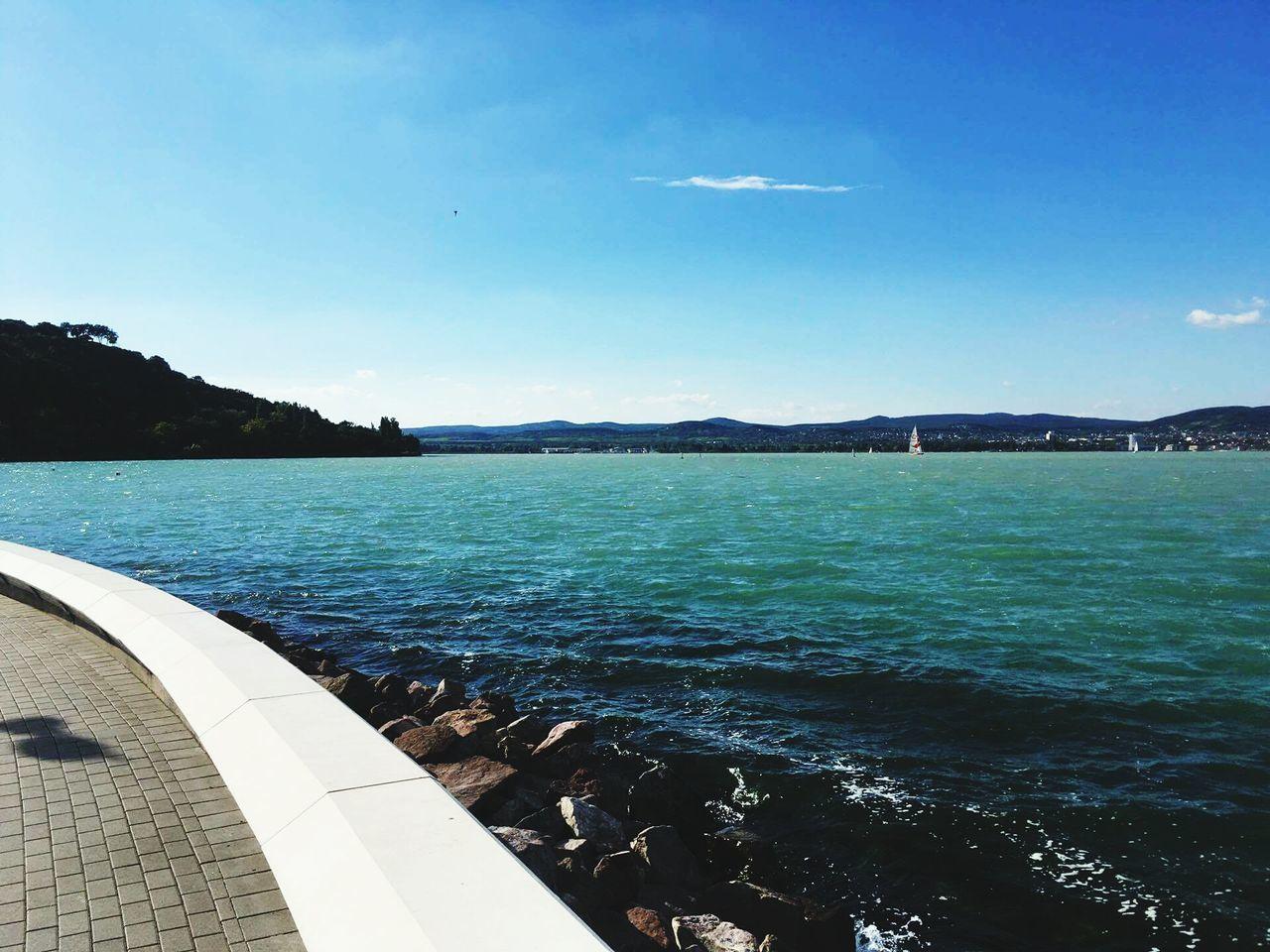 Water Vacations Sky Beach No People Balaton Lake Ilovethisplace Holiday Trip