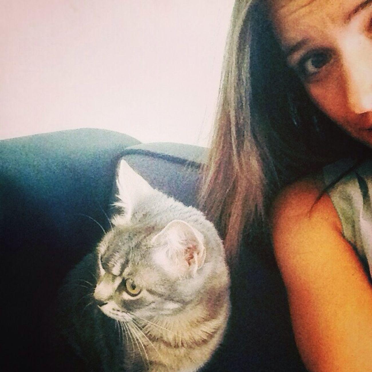 Selfie de Cat Houna Nantes ❤️