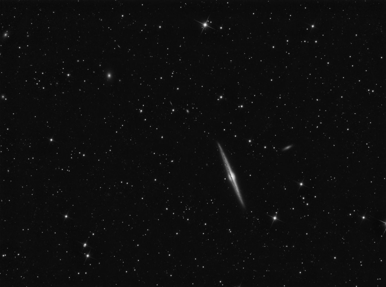 Needle Galaxy (NGC 4565) in Coma Berenices Astronomy Black And White Constellation Deep Space Galaxies Galaxy Galaxy Milky Way Needle Galaxy NGC 4565 Night No People Outdoors Science Sky Space Space Exploration Star - Space Starfield Starry Night Starry Night Sky Stars Stars & Dreams Starscape