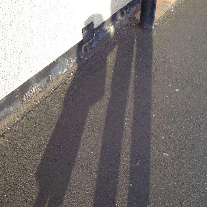 Shadows Littlelegs LongLegs Walking to school instagram iphone iphoneography iphone4s