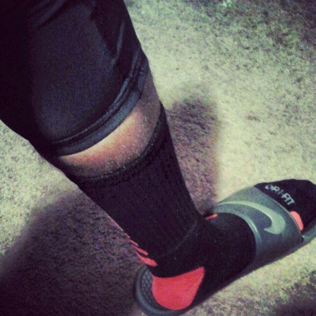 just gettin home from practice #NikeEliteSocks #BasketballTights