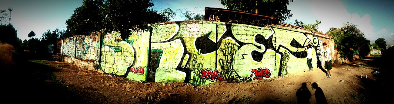 Graffiti Graffiti Art Panoramic Chile SRC