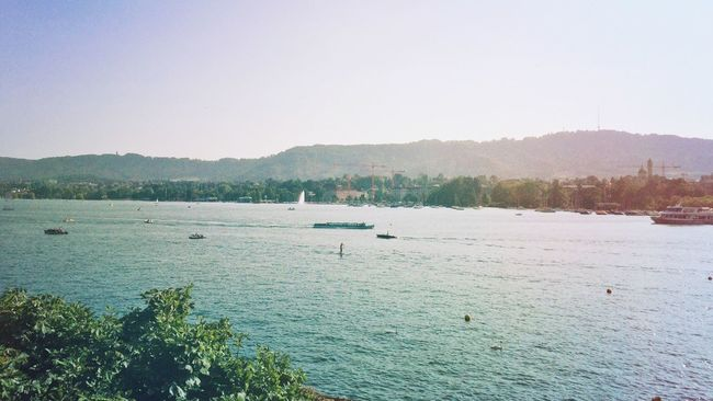A lot of traffic Mexturesapp EyeEmSwiss Lake Summertime Water_collection Landscape_Collection Streamzoofamily