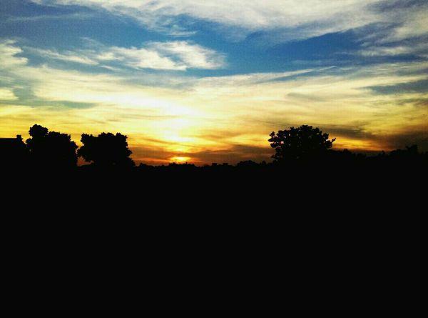 Sunset Portofolio Jogging Time