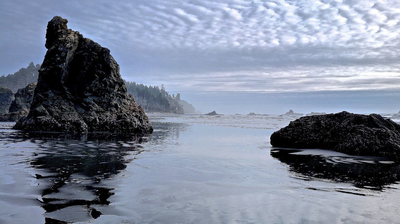 Beach Coastline Cold Cold Temperature Horizon Over Water Ocean Olympic National Park Outdoors Power In Nature Rialtobeach Rocks Scenics Sea Seascape Shore Tranquil Scene Vacations Water