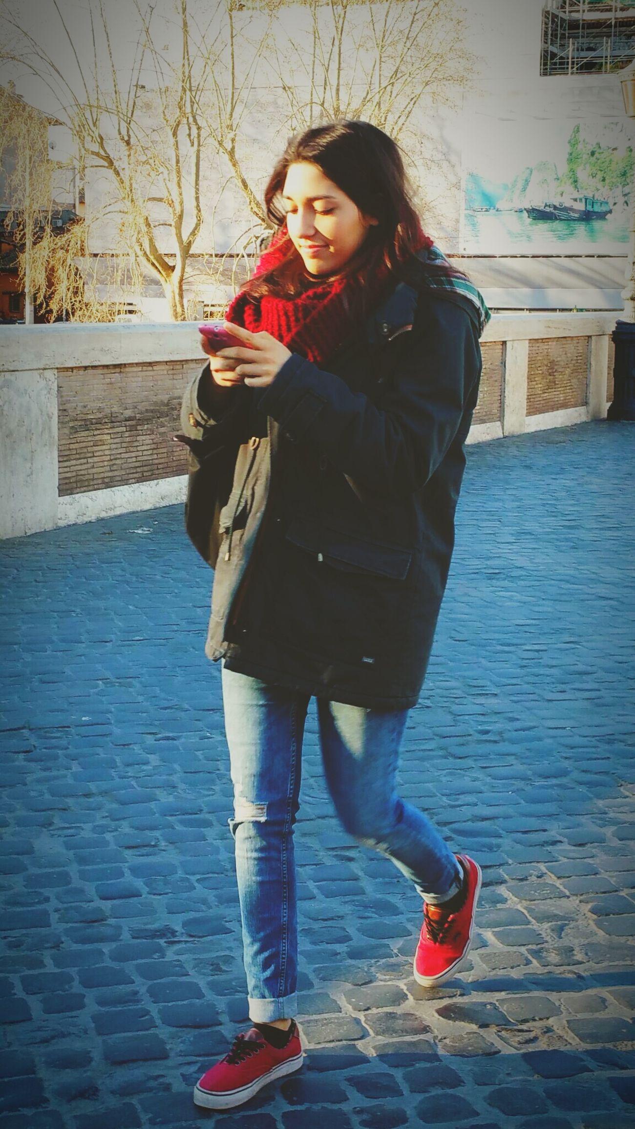 TwentySomething Rome,Italy. Hello World My Love Enjoying Life Portrait Of A Girl