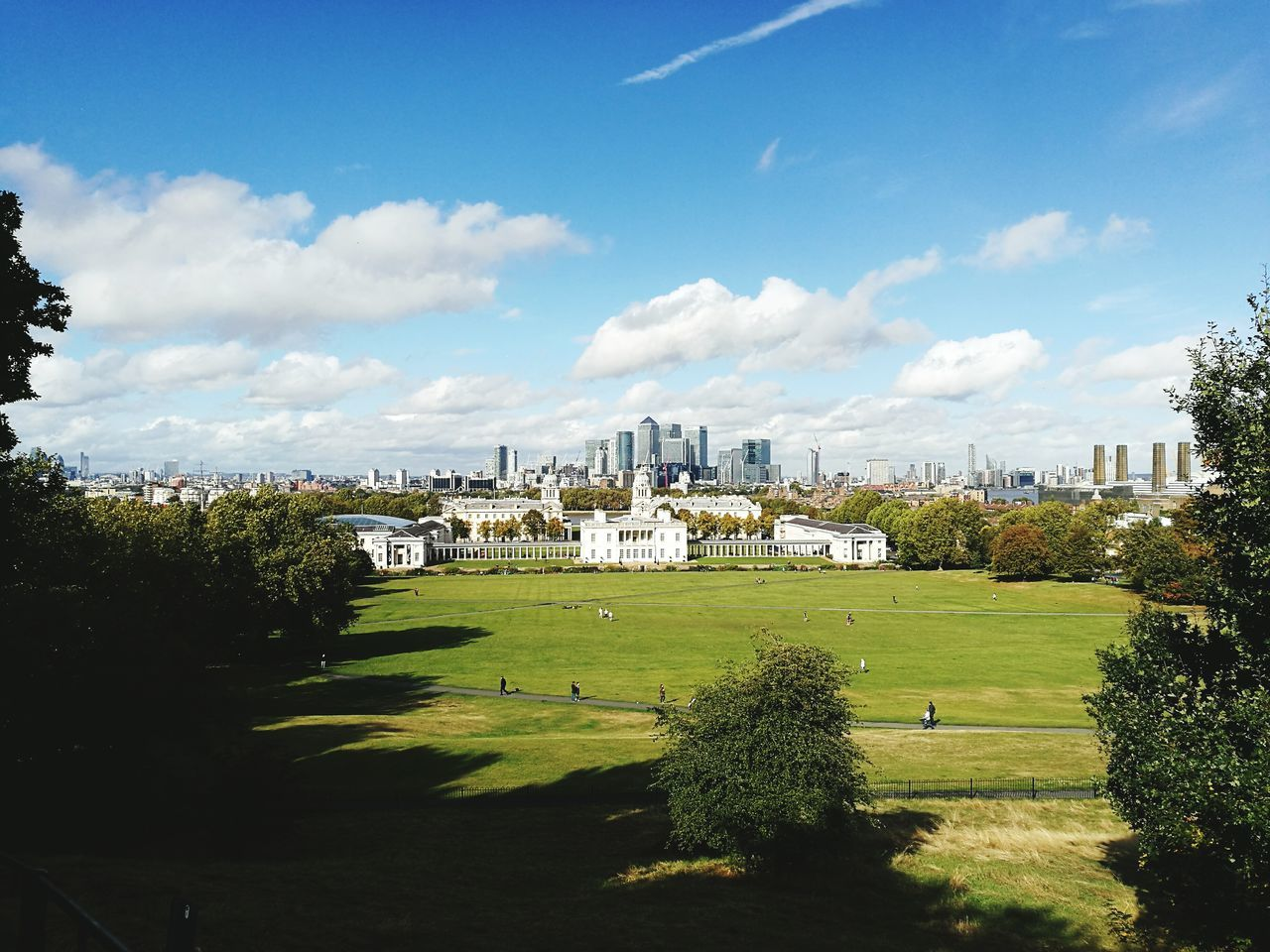 London Greenwich Park Buildingstyles Old Vs Modern