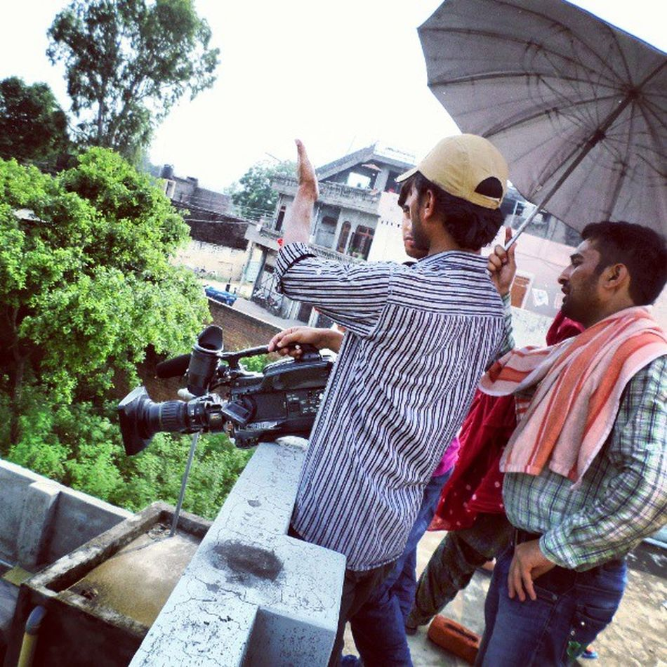 Shooting at our next door Ptc Pindanvichonpind :P