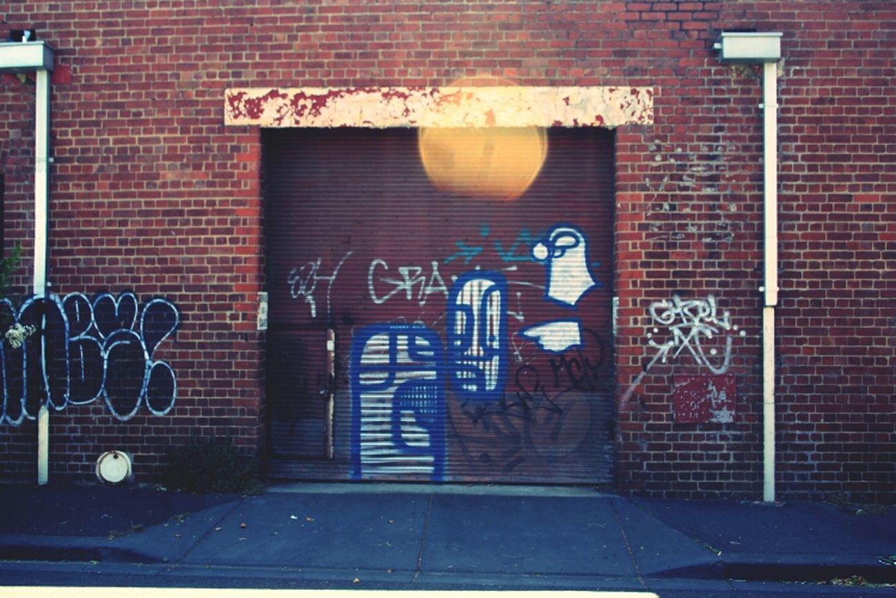Graffiti Streetart Nelio Rollerdoor Art