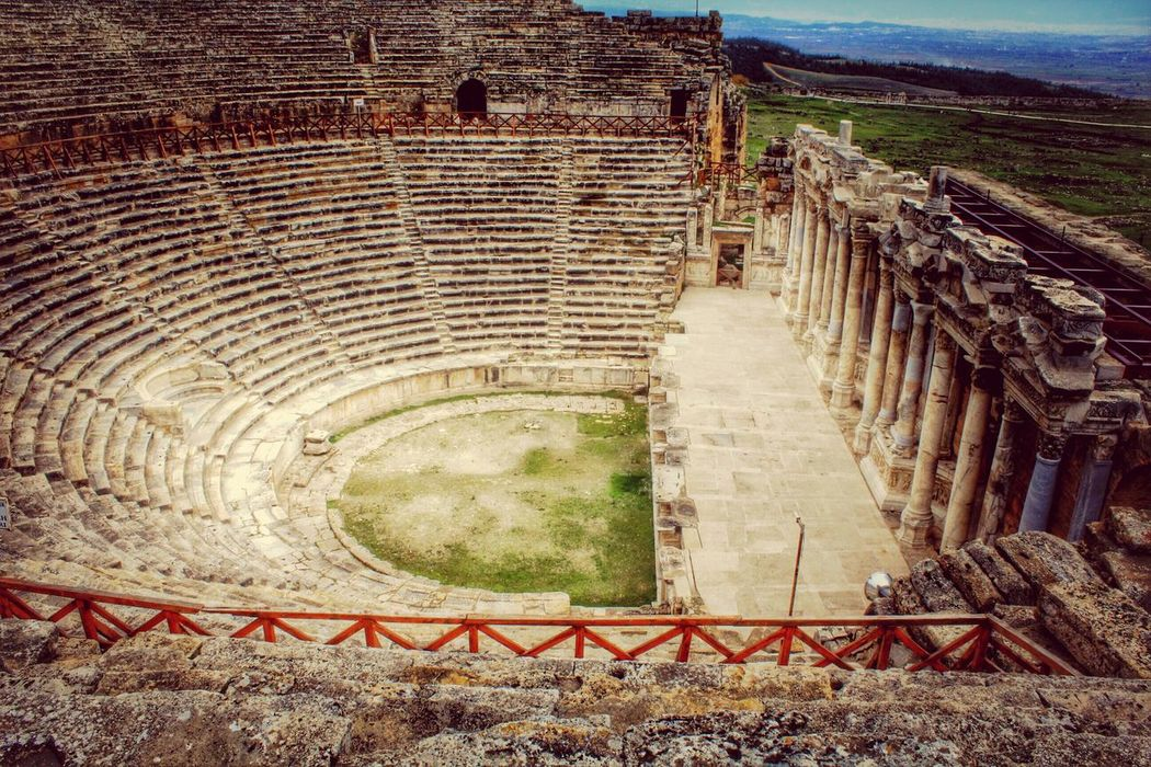 @Hierapolis @pamukkale Antiquetheatre First Eyeem Photo