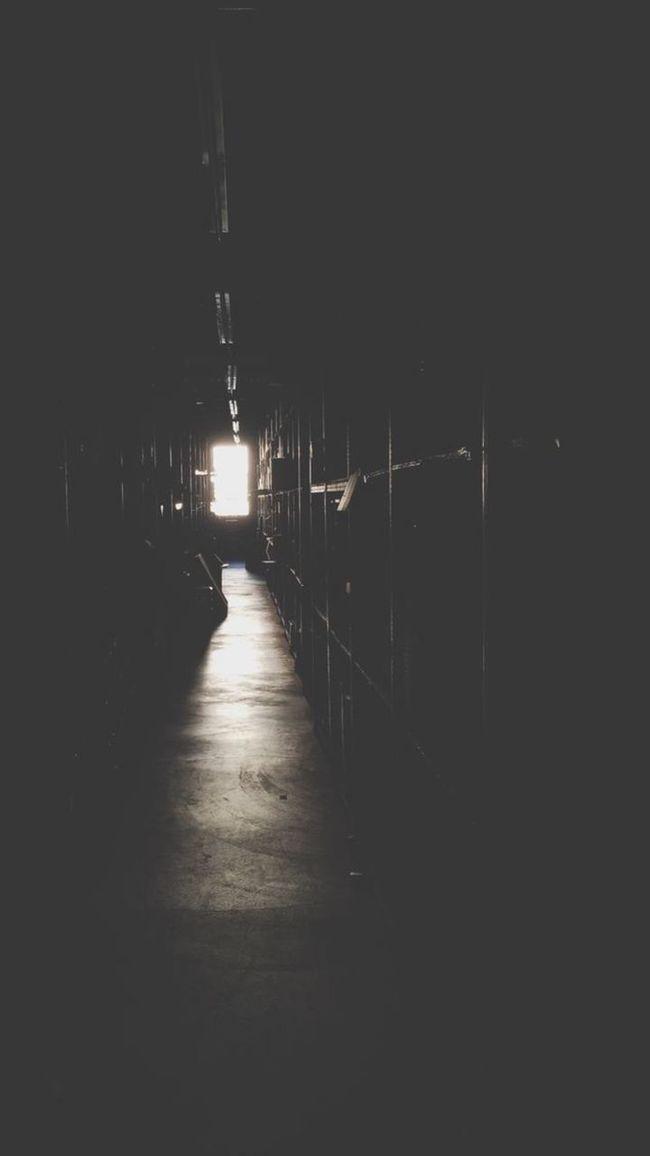 The Way Forward Indoors  No People Aisles Shelf Warehouse Work ShotOnIphone
