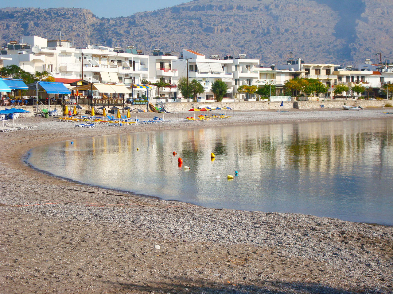 Summer Views Sea View... Love It!  Sea View Blue Sky Blue Sea Photography Landscape Landscape_photography Tranquility Scene Admiring The View Beach Photography Beach Time Seascape Love Summer No People Tranquil Scene Tranquility Charaki Beach Rhodes