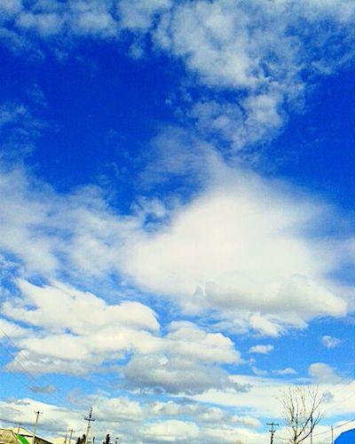 облака👍 Cloud - Sky Sky Outdoors No People Day Blue Scenics Nature First Eyeem Photo