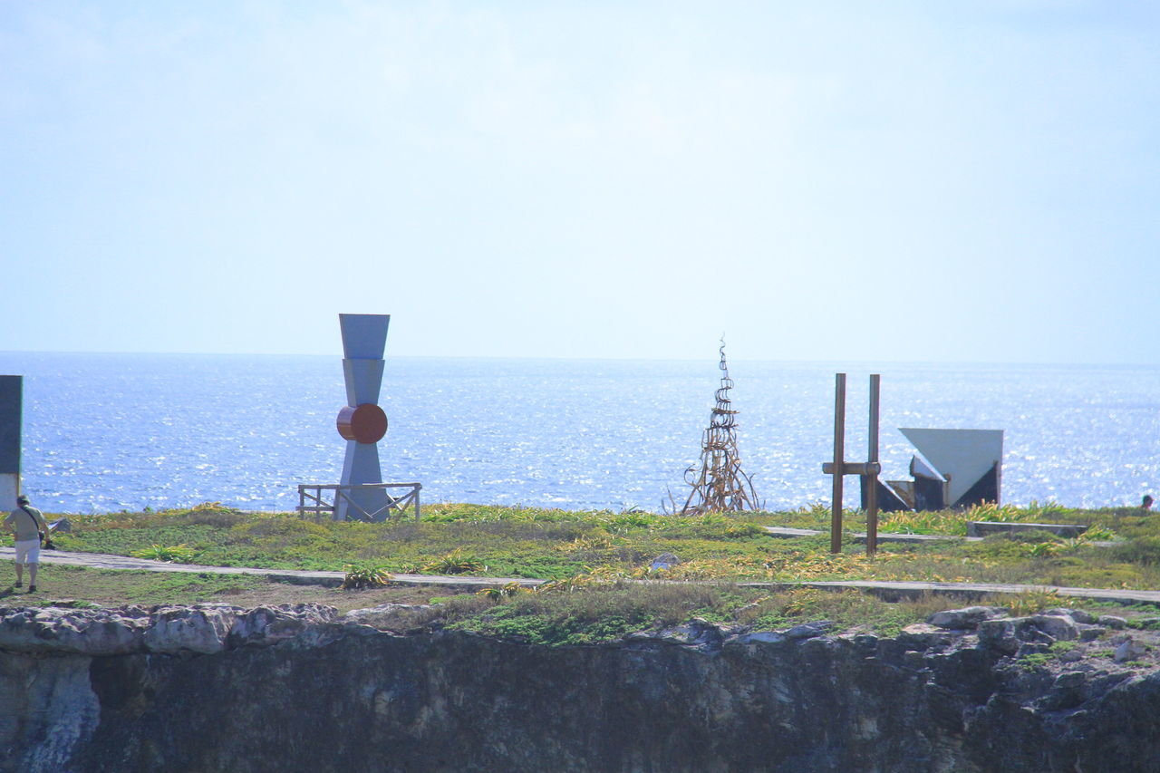 Art Arte ArtWork Beauty In Nature Clear Sky Day Horizon Over Water Isla Mujeres Isla Mujeres :) Isla Mujeres Cancun Isla Mujeres Mexico IslaMujeres Nature No People Outdoors Scenics Sea Sky Water