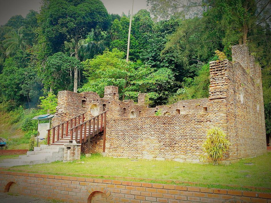 Taking Photos ❤ Kota Belanda (Dutch Fort) Pangkor Island Perak Malaysia Cuti Cuti Malaysia EyeEm Malaysia Jalanjalanperak Vacation Time By Ismi_zuehaira