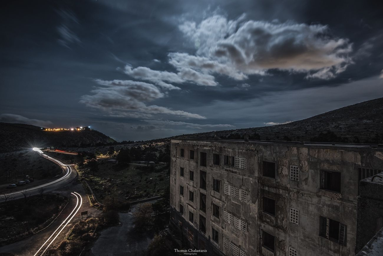 Athens Greece Sanatorium Parnitha Love Athens, Greece Building Old Old Buildings Travel Photography Photography Photooftheday Photographer Photoshoot Photography In Motion
