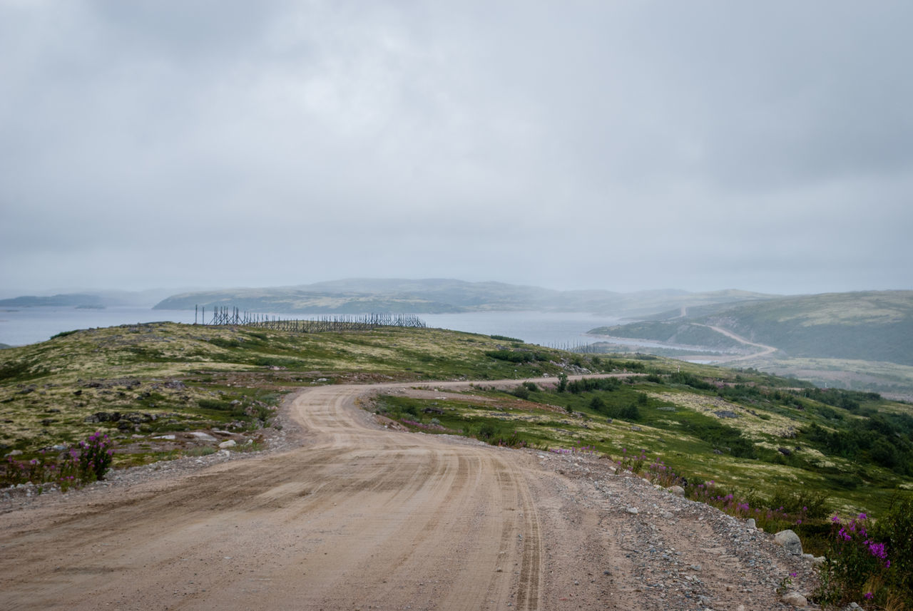 Northern landscape Alone Clouds Cold Dirt Road Dull Far Gray Landscape Northern Polar  Provinces Road Roadtrip Russia Russian Russian Nature Severe Severe Weather Sky Sky And Clouds Summer Way EyeEm Selects